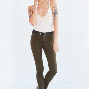 BDG Olive Green Skinny jeans